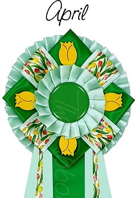 Ribbon of the month - April