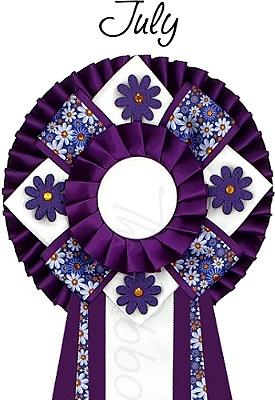 Ribbon of the month - July