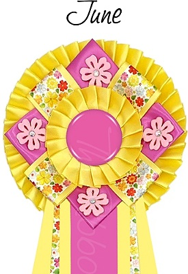Ribbon of the month - June