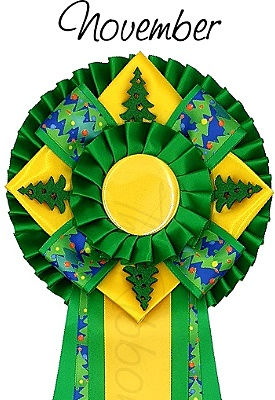 Ribbon of the month - November