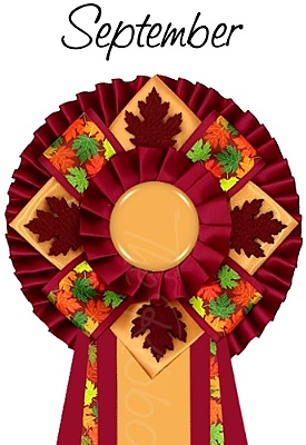 Ribbon of the month - September