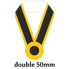 Sashe double/Schärpe doppelt 50mm